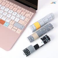 苹果macbook电脑air13笔记本pro13.3寸键盘11保护贴膜12功能15mac