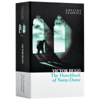 巴黎圣母院 英文原版书 The Hunchback Of Notre-Dame 雨果 柯林斯经典文学 英文版进口英语书