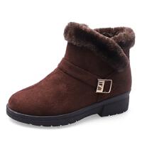 WARORWAR新品YM13-6622冬季欧美平底舒适女短靴