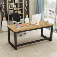 包邮加固型家用台式电脑桌简约现代单双人办公桌经济型卧室桌定制