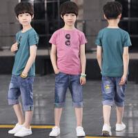 男童夏装新款套装夏季童装儿童短袖帅气男孩宝宝潮