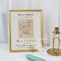 马蒂斯Matisse抽象手绘复古艺术卡片墙面装饰海报ins风相框画芯 尺寸看详情 其他类型 独立