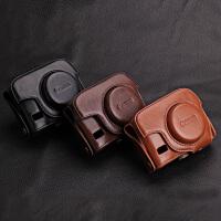 佳能相机包 皮套SX720 SX730 G7XII G9X G15 G16 G5X相机包 G15 G16深棕色