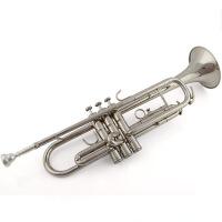 小号乐器初学者专业演奏通用降B调学生团体金色银色津宝小号乐器