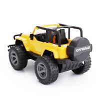 仿真大号吉普车JEEP牧马人越野车音乐惯性车儿童玩具回力汽车男孩 抖音