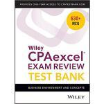 【预订】Wiley Cpaexcel Exam Review 2018 Test Bank: Business Env