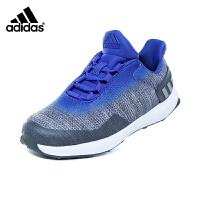 Adidas 阿迪达斯童鞋18春新款儿童运动鞋渐变风男童跑步鞋透气舒适户外休闲鞋 (5-15岁可选)  CQ0163