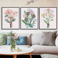 家居家居5d异形钻石画贴钻石十字绣 客厅 简约现代花卉温馨小幅卧室砖石秀 图片色