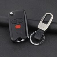 比亚迪F3/F3R钥匙壳 BYDf3/f3r改装折叠遥控器 原车钥匙替换外壳 +钥匙扣