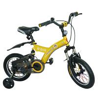 【当当自营】儿童自行车男女表演车14寸16寸18寸学生车 山地车学生车好孩子必备品 小酷熊16寸黄色