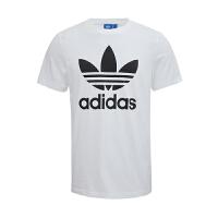Adidas阿迪达斯男装  2017新款三叶草运动休闲圆领透气短袖T恤  AJ8828/AJ8830  现