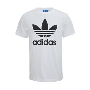 Adidas阿迪达斯男装   三叶草运动休闲圆领透气短袖T恤  AJ8828/AJ8830  现