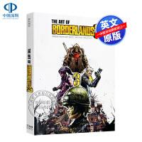 现货无主之地3 游戏设定集 英文原版 The Art of Borderlands 3 硬壳精装大开本 ps4 epic