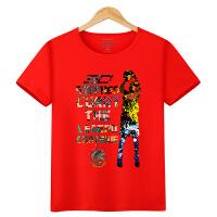20180419224420578 詹姆斯科比球衣库里篮球运动t恤童装中大童 短袖男童夏季体恤