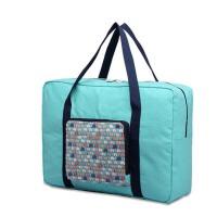 手提便携拉杆包 大容量行李袋 旅游行帆布李包 折叠旅行收纳袋