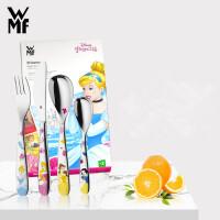 德国福腾宝WMF不锈钢迪士尼公主四件套餐具卡通儿童宝餐具礼盒装