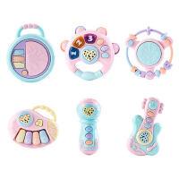 婴儿童手摇铃0-1岁男宝宝6抓握训练3早教益智玩具幼儿9女孩10个月