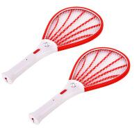【下单立减10元】充电式电蚊拍带LED应急照明灯 安全环保灭蚊拍苍蝇拍灭虫拍