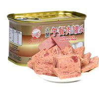 EDO PACK 长城牌 火腿猪肉午餐肉罐头 单罐装多种口味可选 即食香肠烹饪配料