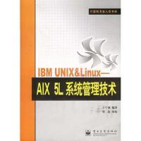 【旧书珍藏9成新正版现货包邮】IBM UNIX&Linux:AIX 5L系统管理技术――计算机专业人员书库 于宁斌 电
