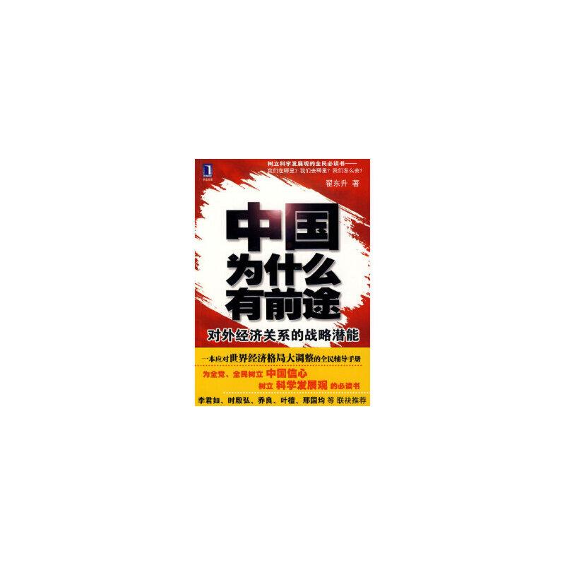 【新书店正版】中国为什么有前途:对外经济关系的战略潜能翟东升机械工业出版社9787111307891 新书店购书无忧有保障!