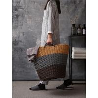 塑料脏衣篮脏衣服收纳筐装衣物娄篮子放的赃蓝框简约家用洗衣篓桶3wh