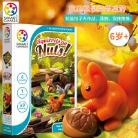 比利时Smart Gmaes儿童益智桌游疯狂松鼠Squirrels go Nuts 6岁+