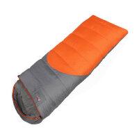 户外成人加宽 三季露营保暖 单可拼双人睡袋