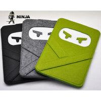 苹果平板电脑 iPad mini4 mini3 缓冲包 羊毛毡 内胆包 保护套