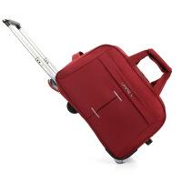 新款旅行袋大容量牛津布拉杆包折叠多功能登机箱包男女旅行包百搭休闲托运箱便携行李箱