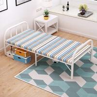 简约可爱办公室午休折叠床家用硬板床出租屋简易便携单人床