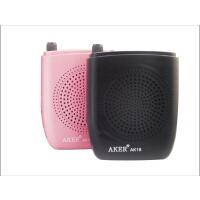 爱课(AKER)AK18 液晶显示屏FM收音 录音 便携腰挂喊话器 扩音器 显示歌词 小蜜蜂扩音器教师专用导游教学腰挂