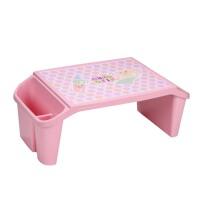 儿童塑料学习桌 宝宝笔记本 床上书桌 学生写字桌
