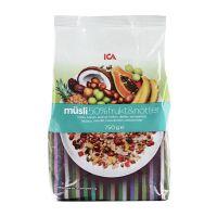 国内现货 瑞典ICA混合水果坚果果仁燕麦片 750g