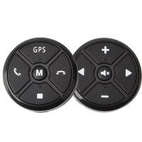 通用汽车方控多功能方向盘按键改装无线控制器安卓导航遥控器
