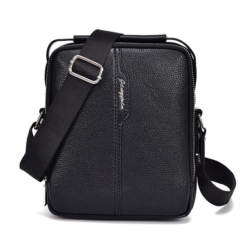 新款真皮头层牛皮包手提男包单肩包挎包男士包包小背包斜挎包挂包