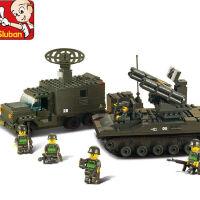 陆军队元旦礼品创意军事坦克创意模型5岁启蒙拼装玩具