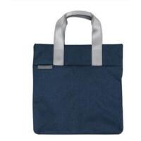 手提包女士帆布袋购物袋拉链文件袋男士A4公文包办公用品