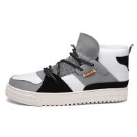 男鞋高帮鞋子中帮高邦板鞋运动休闲潮鞋潮牌潮男嘻哈街舞韩版潮流