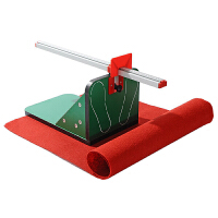 坐位体前屈测试仪 中小学生柔韧度训练器学校可拆卸加厚考试器材中考体育用品 测试仪+红毯