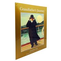 英文原版绘本 Grandfather's Journey 外公的旅程 凯迪克大奖金奖 少儿英语启蒙阅读教材绘本 日裔美