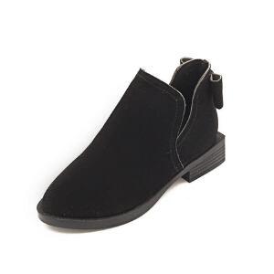 WARORWAR新品YM95-921冬季欧美平底鞋舒适女士靴子裸靴