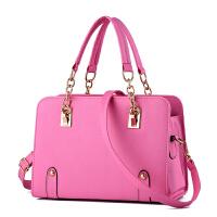 女包手提包款潮大包女士手提包单肩包斜挎包斜跨女包包 大号紫色