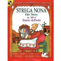 进口原版少儿英语绘本 Strega Nona Her Story巫婆奶奶的故事