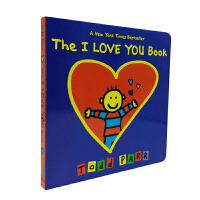 进口原版 The I LOVE YOU Book 我爱你 Todd Parr绘本 纸板书