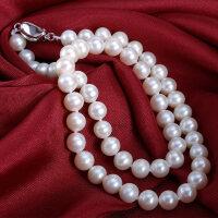 淡水珍珠��正品 ��光近正�A珍珠������款送婆婆�i骨�� 近�A珍珠��