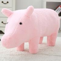 ?向往的生活王珞丹同款小猪猪沙发抱枕大象公仔毛绒玩具熊猫玩偶