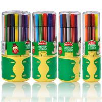 晨光文具 六角杆可水洗水彩笔 QCP95809 塑料圆桶装12色18色24色36色