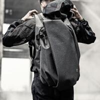 双肩包男士时尚潮流背包大学生运动休闲旅行包男大容量电脑包书包