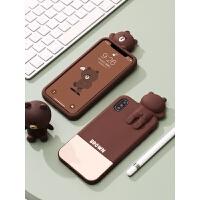 苹果xs max手机壳iphone6splus套硅胶7/8plus卡通女款软壳防摔6男